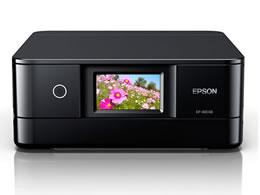 EPSON/カラリオ A4インクジェットプリンター複合機 ブラック/EP-881AB