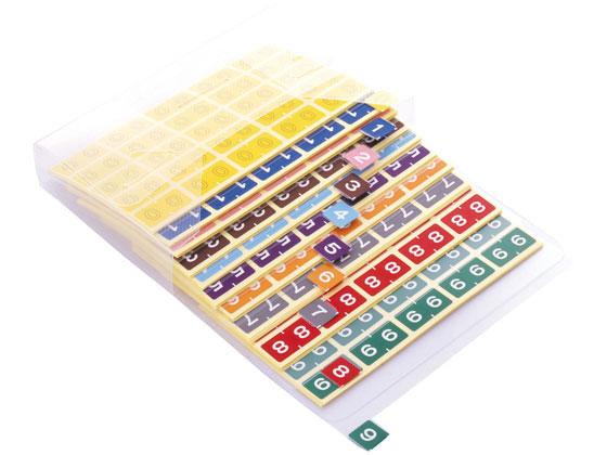 【税込1万円以上で送料無料】 リヒトラブ/カラーナンバーラベル M セット(0~9)/HK7753-コミ