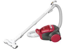パナソニック/サイクロン式掃除機 レッド/MC-SK17A-R