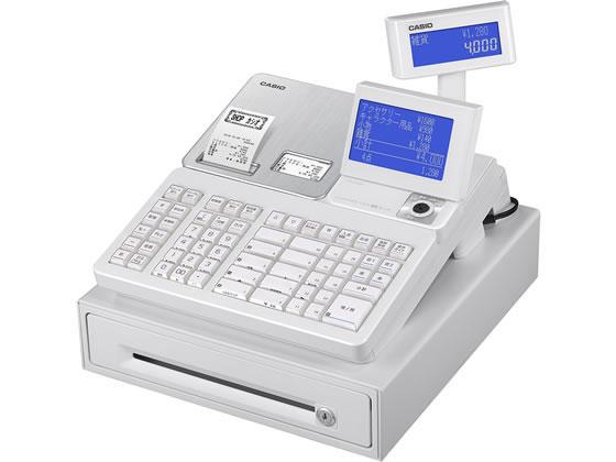 カシオ/電子レジスター 20部門 ホワイト/SR-S4000-20SWE