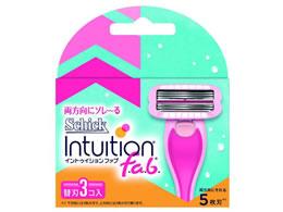 シック/イントゥイション ファブ 替刃 3コ入 カミソリ