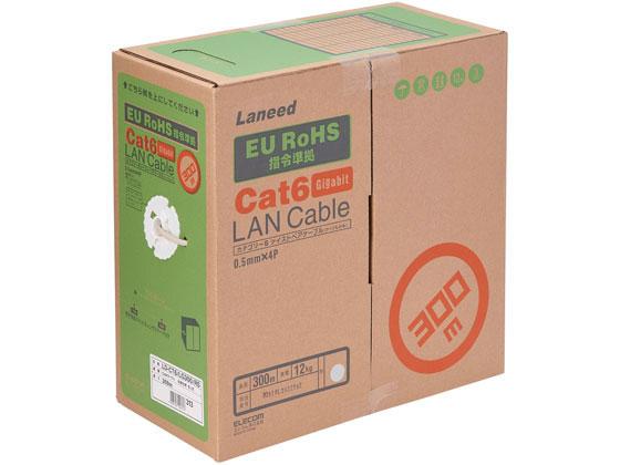 エレコム/Gigabit LANケーブル Cat6 300m /LD-CT6/LG300/RS