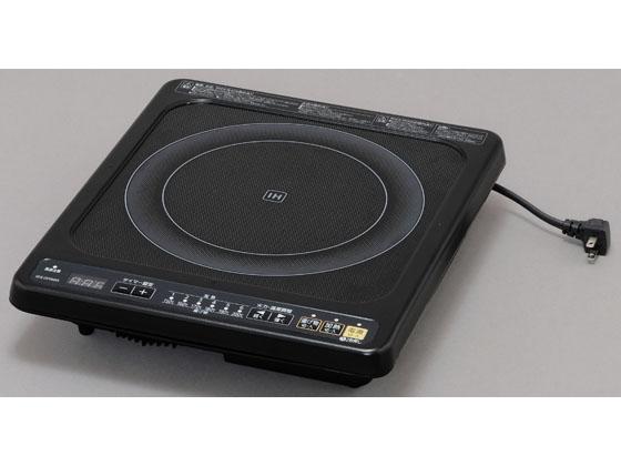 アイリスオーヤマ/IHクッキングヒーター ビルトインタイプ 100V ブラック