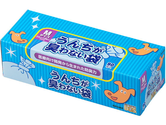 税込1万円以上で送料無料 クリロン化成 うんちが臭わない袋 BOSペット用箱型 新作製品 世界最高品質人気 販売実績No.1 Mサイズ