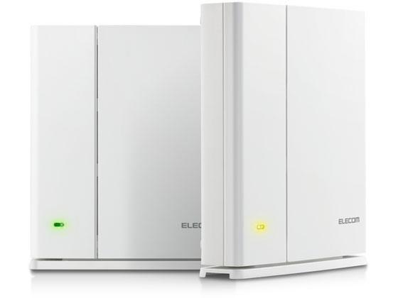 エレコム/無線LANルーター Wi-Fi5 867+400Mbps/WMC-DLGST2-W