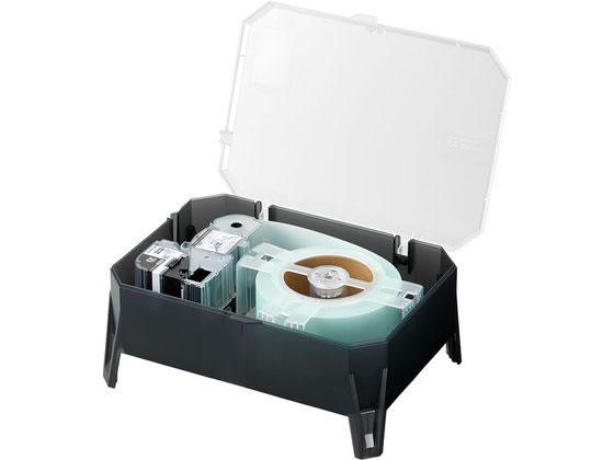 キングジム/EXロングテープカートリッジ 50mm 白 黒文字/SS50K-EX