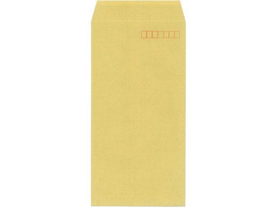 今村紙工/地紋入クラフト封筒 長3 100枚 テープ付×30パック