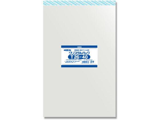 ヘイコー/クリスタルパックT 26-40 100枚×10袋