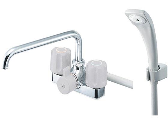 SANEI/ツーバルブデッキシャワー混合栓/SK710-LH-13