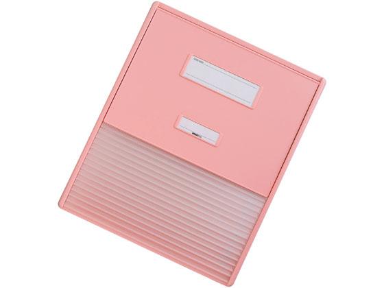 リヒトラブ/カラーカードインデックス A3(A4・2列) 16枚 ピンク