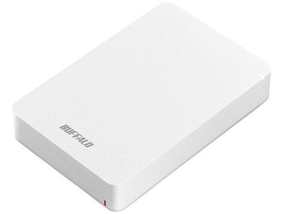バッファロー/USB3.1ポータブルHDD 4TBホワイト/HD-PGF4.0U3-GWHA