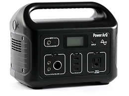 加島商事/ポータブル電源 PowerArQ/008601C-JPN-FS-BK
