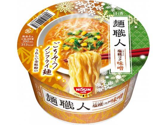 税込1万円以上で送料無料 日清食品 麺職人 新色 味噌 値下げ 96g