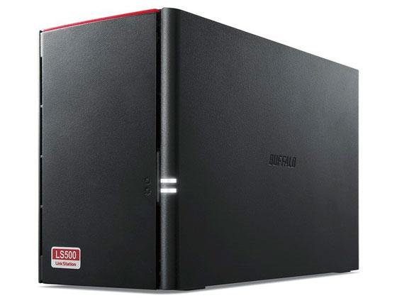 バッファロー/RAID機能搭載 ネットワークHDD 2TB/LS520D0202G