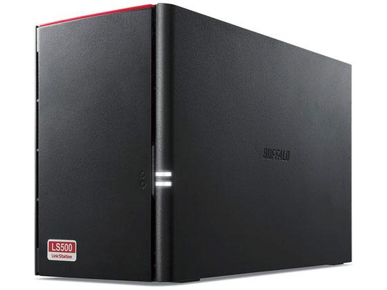 バッファロー/NAS用HDD搭載 2ドライブNAS 8TB/LS520DN0802B