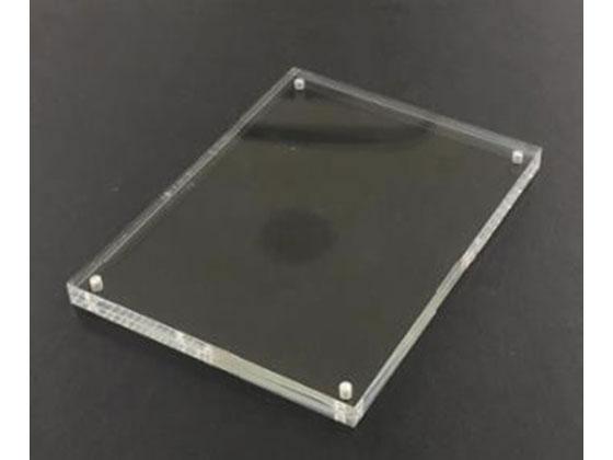 税込1万円以上で送料無料 スマイル メーカー公式ショップ アクリル 119×159×10mm B7 ハイクオリティ マグネットカードフレーム