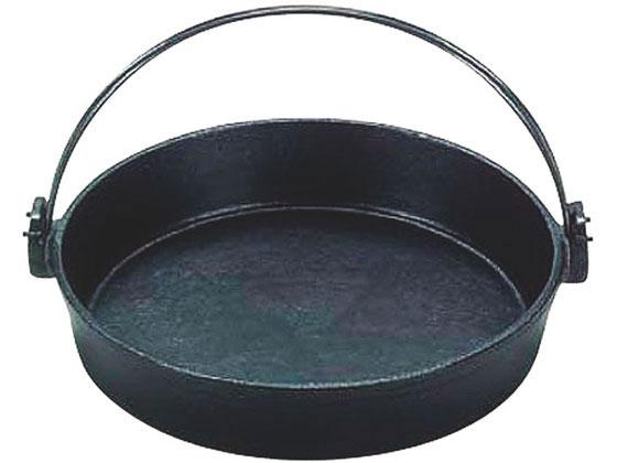 お取り寄せ 税込1万円以上で送料無料 三和精機製作所 S 黒塗り 購入 15cm 高品質新品 鉄すきやき鍋ツル付