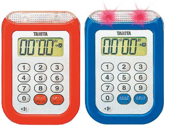 販売 お取り寄せ 税込1万円以上で送料無料 タニタ TD-377-RD 赤 割引も実施中 防水大音量タイマー