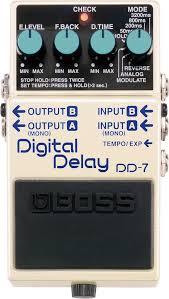 【展示特価】Boss Digital Delay DD-7 ボス デジタルディレイ【店頭受取対応商品】