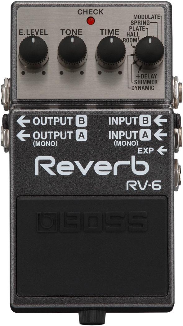 Boss Digital Reverb RV-6<ボス デジタルリバーブ>【商品番号 10005249 】【店頭受取対応商品】
