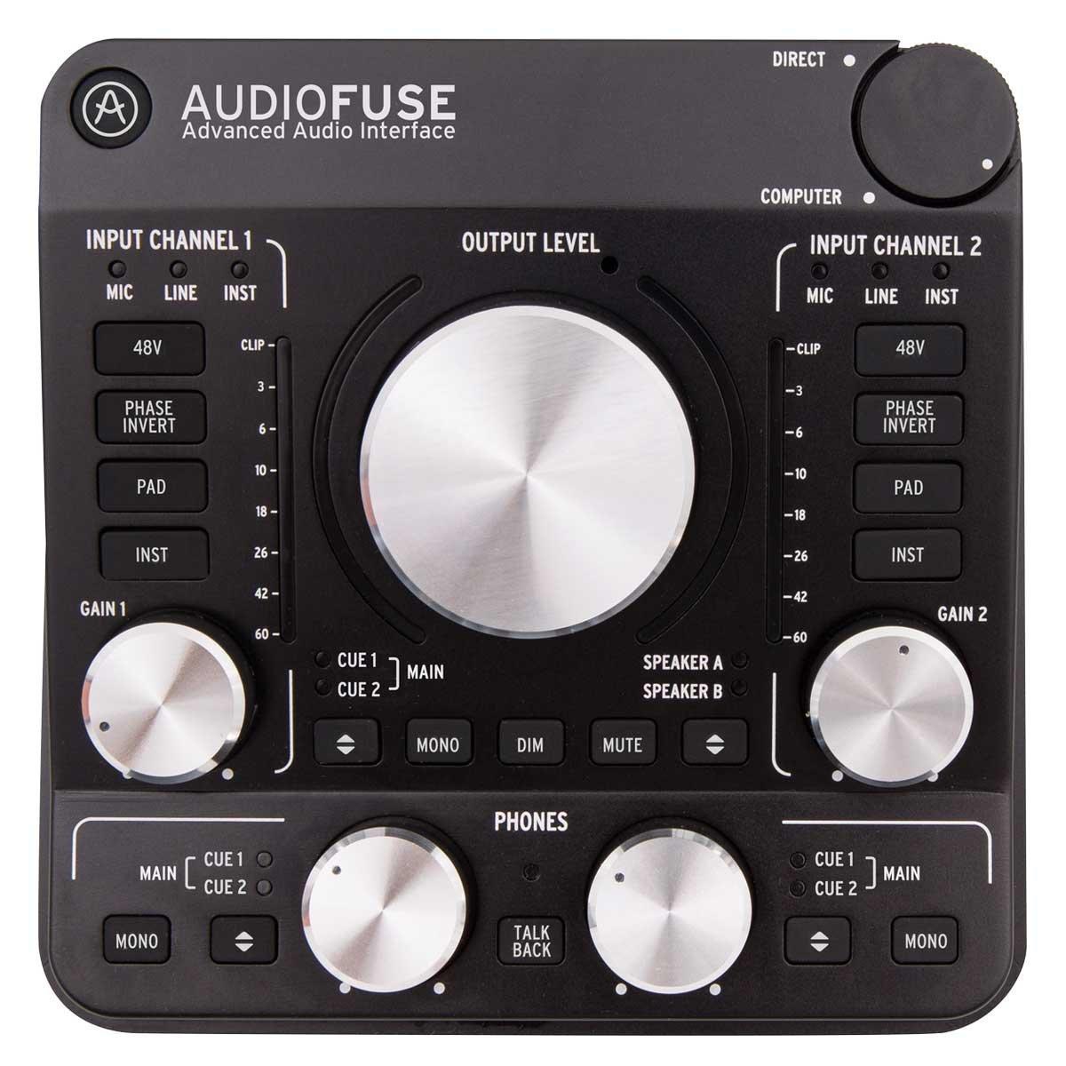 【楽ギフ_包装】 Arturia AudioFuse AudioFuse Arturia DeepBlack <アートリア オーディオフューズ>【RECOMMEND:三条本店STAGE DeepBlack】【店頭受取対応商品】, あいちけん:6e236c8e --- clftranspo.dominiotemporario.com