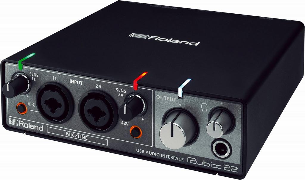 Roland Rubix-22 USB audio interfaceローランド インターフェイス【店頭受取対応商品】