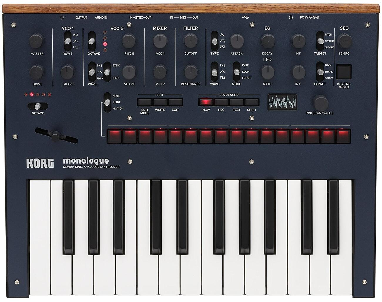 KORG monologue BL<コルグ モノローグ>【RECOMMEND:三条本店STAGE】【店頭受取対応商品】