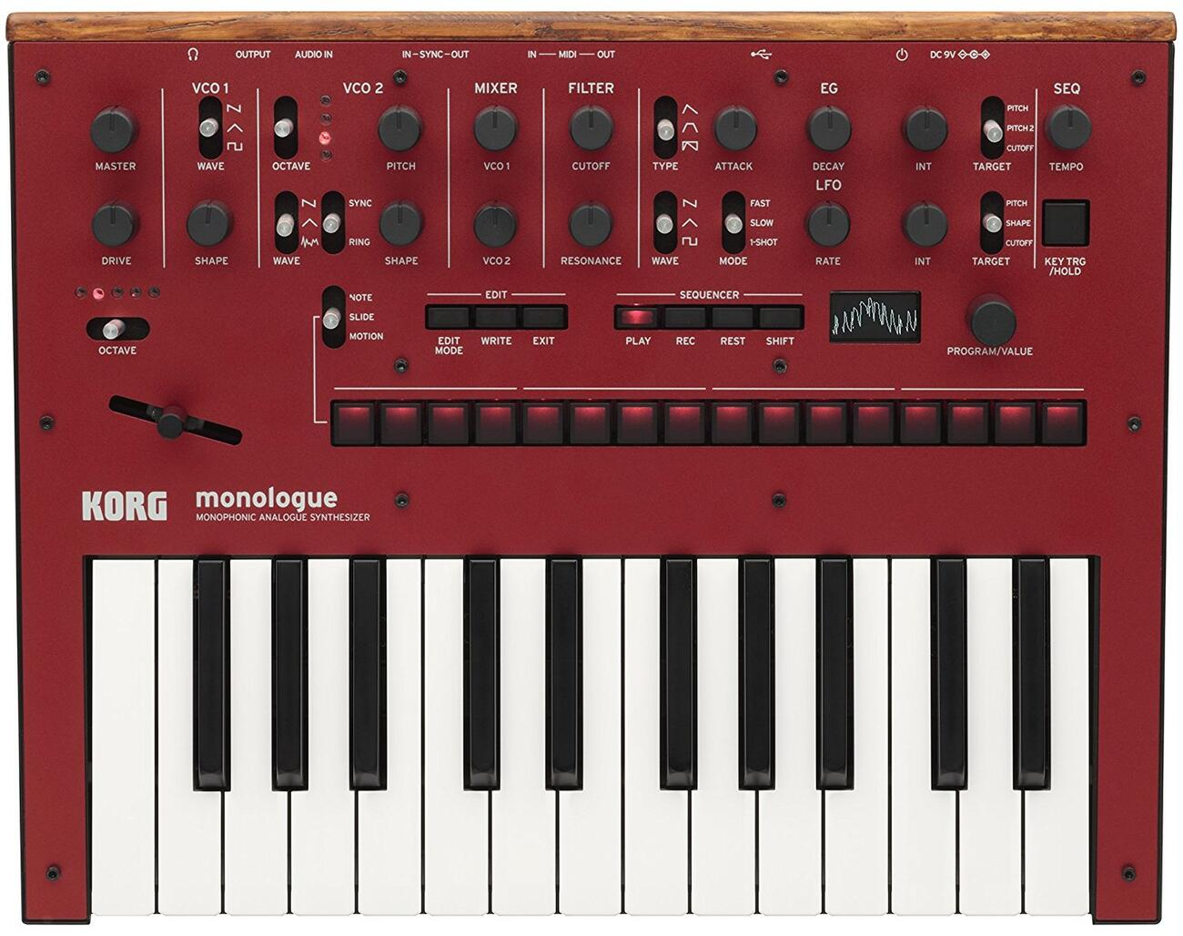 KORG monologue RD<コルグ モノローグ>【RECOMMEND:三条本店STAGE】【店頭受取対応商品】