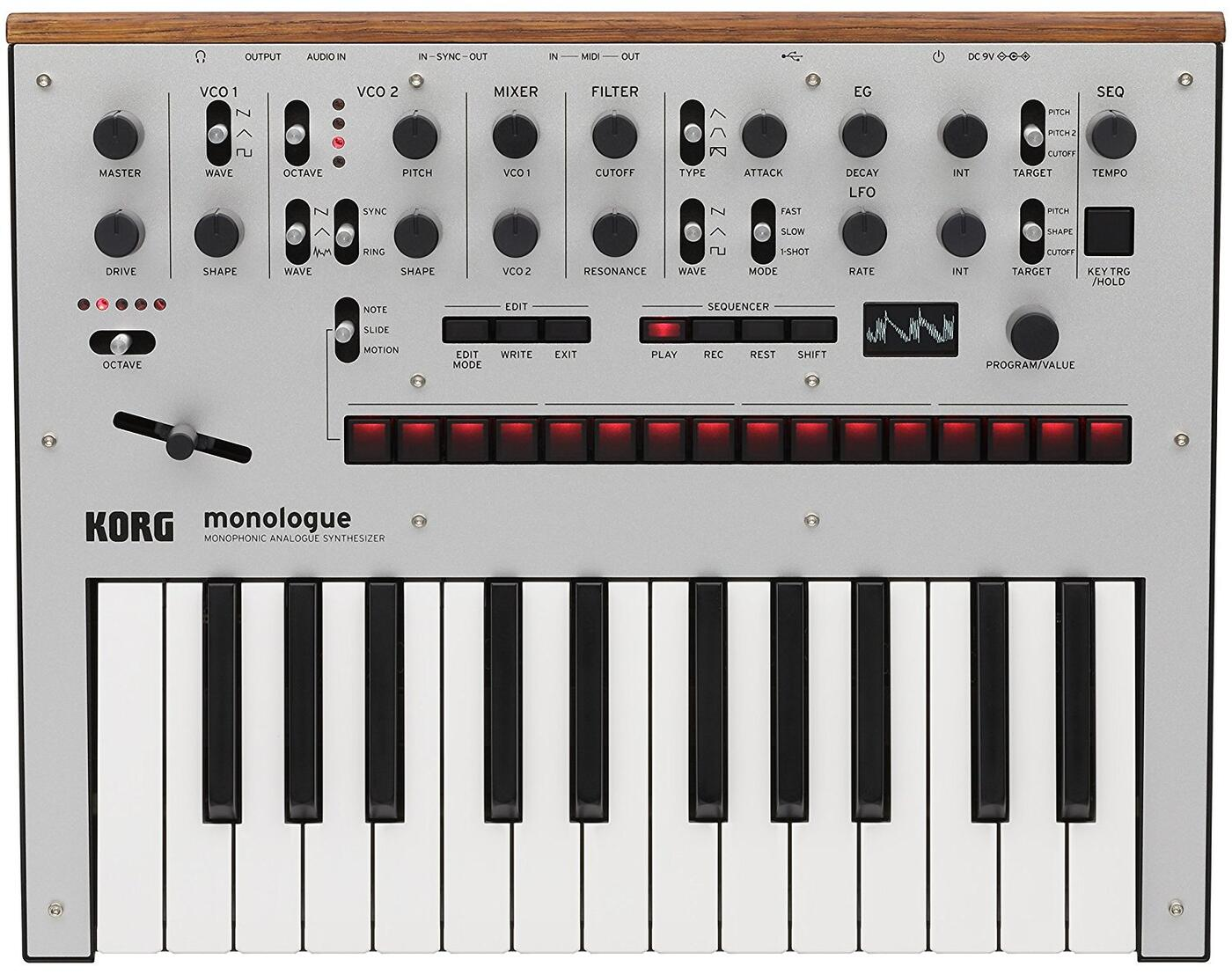 KORG monologue SV<コルグ モノローグ>【RECOMMEND:三条本店STAGE】【店頭受取対応商品】