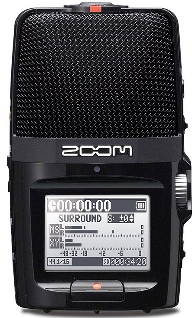 ZOOM H2nズーム ハンディレコーダー【店頭受取対応商品】