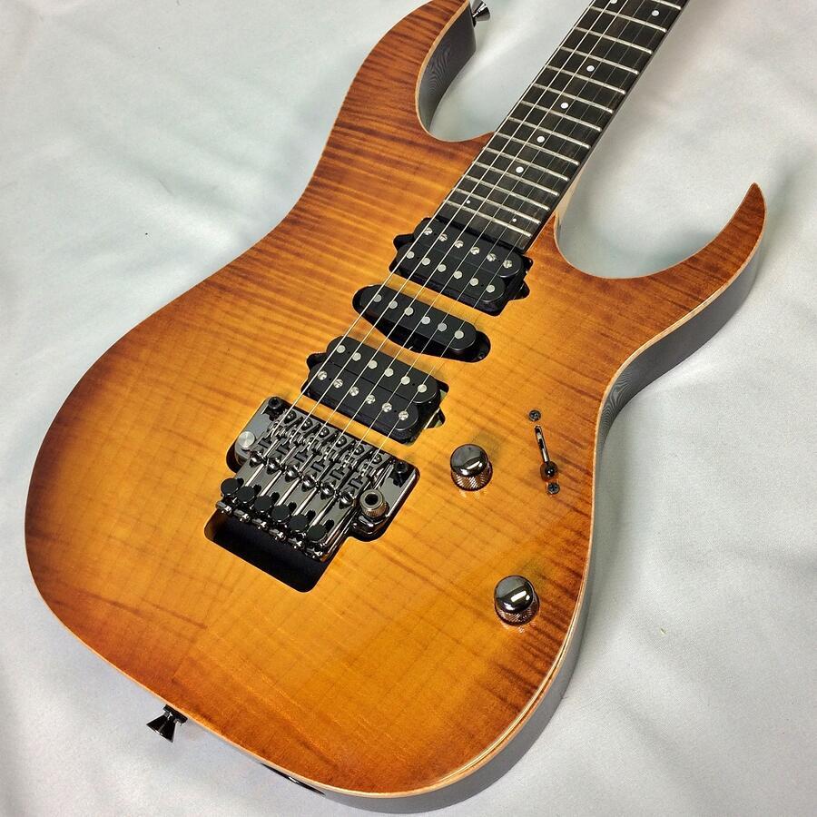 Ibanez Jcustom RG7570Z Bright Brown Rutile<アイバニーズ エレキギター>【店頭受取対応商品】