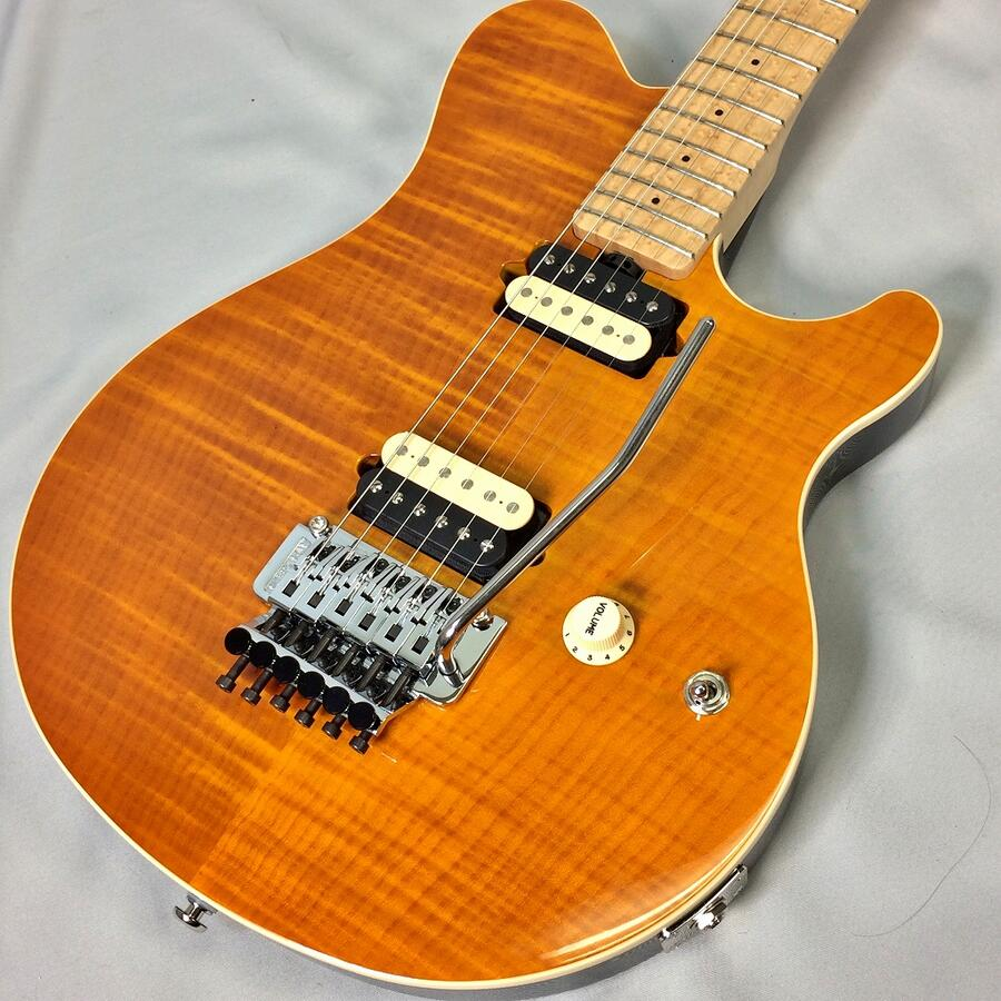 Ernie Ball Music Man AXIS Translucent Goldミュージックマン アクシズ【店頭受取対応商品】