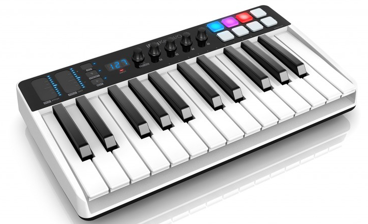 IK Multimedia iRig Keys I/O 25 オーディオインターフェイス【店頭受取対応商品】