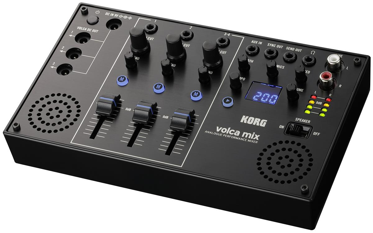 KORG VOLCA MIX<コルグ ボルカミックス>【RECOMMEND:三条本店STAGE】【店頭受取対応商品】