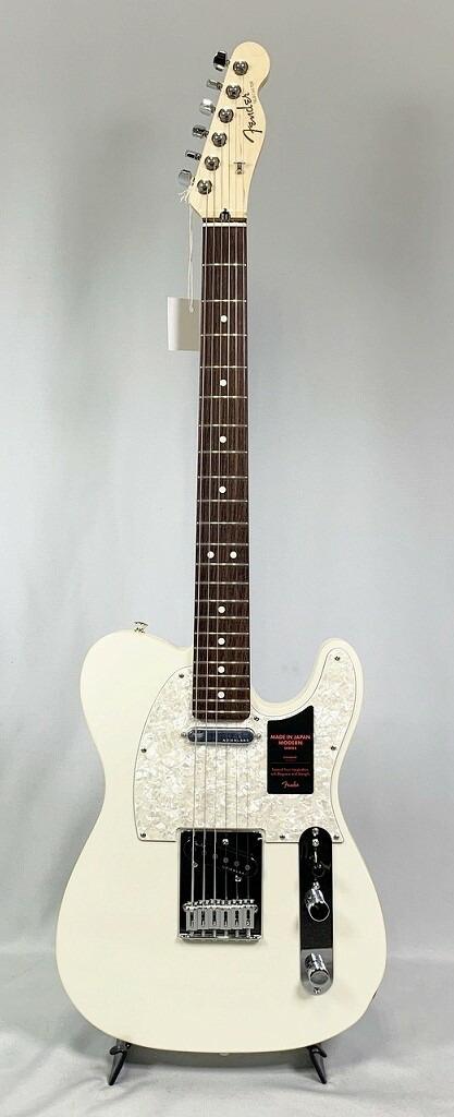 美しい Fender MADE IN JAPAN MODERN TELECASTER® Olympic Pearlフェンダー モダン テレキャスター, セブンスランド c6825ab2