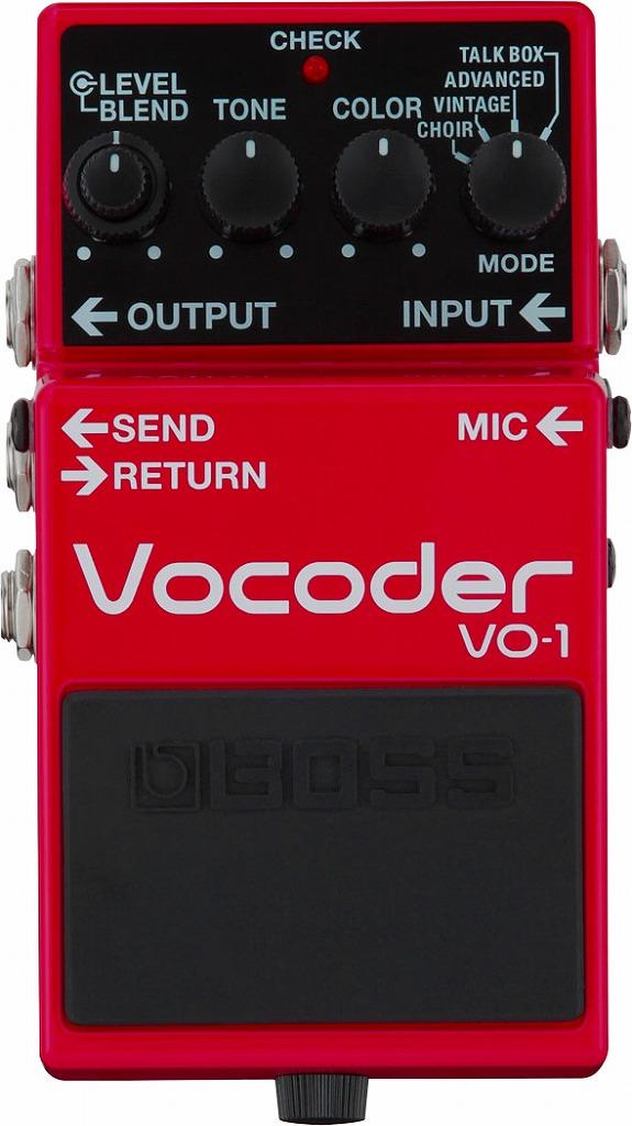 BOSS VO-1 Vocoder<ボス ボコーダー>【商品番号 10009174 】
