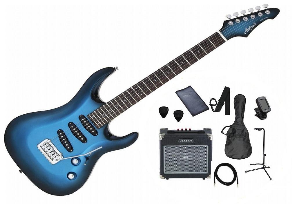 Aria Pro II MAC-STD/S セット アリアプロ2 エレキギター【店頭受取対応商品】
