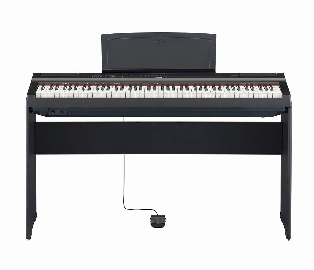 【お客様組立て品】【スタンドつき】YAMAHA P-125B 専用スタンドセットヤマハ 電子ピアノ【店頭受取対応商品】