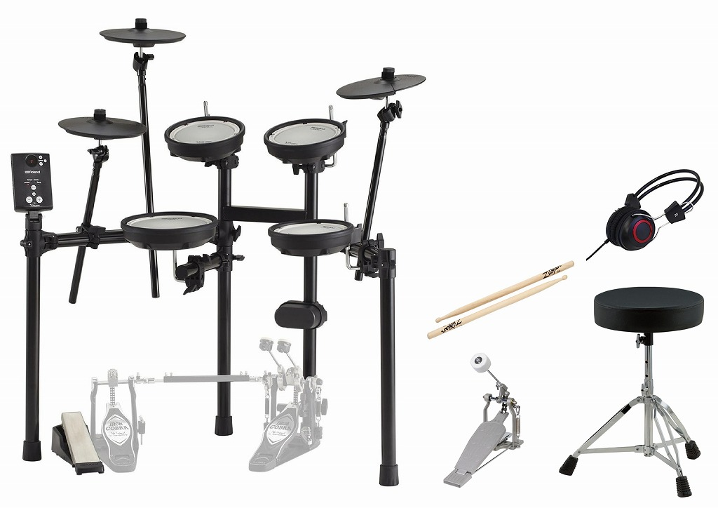 【即納可能】Roland TD-1DMK セット ローランド 電子ドラム【店頭受取対応商品】