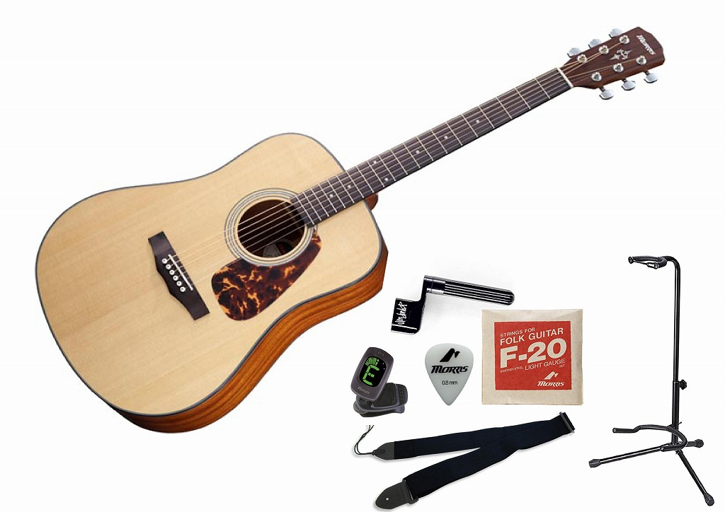 MORRIS M-351 SET モーリス フォークギター セット【店頭受取対応商品】