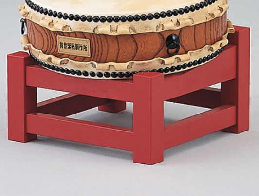 SUZUKI 平太鼓用二重平置台 1尺3寸<スズキ 平太鼓用太鼓台>【商品番号10009578 】【店頭受取対応商品】