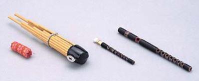SUZUKI 雅楽(左方楽用管楽器)セット<スズキ 雅楽セット>【商品番号10009620 】【店頭受取対応商品】