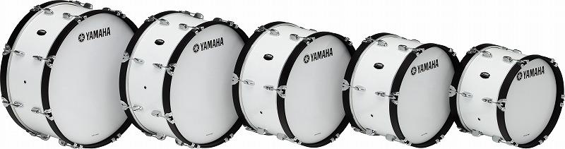 【送料無料】YAMAHA MARCHING BASS DRUMSMB-4000シリーズMB-4018<ヤマハ マーチング バスドラム>【商品番号 10011270 】