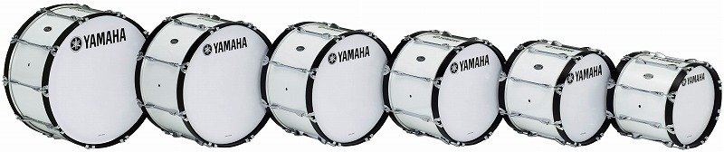 【送料無料】<BR>YAMAHA MARCHING BASS DRUMS<BR>MB-6300 シリーズ ~POWER-LITE Series~<BR>MB-6320<BR><ヤマハ マーチング バスドラム><BR>【商品番号 10011279 】