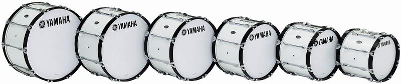 【送料無料】YAMAHA MARCHING BASS DRUMSMB-6300 シリーズ ~POWER-LITE Series~MB-6322<ヤマハ マーチング バスドラム>【商品番号 10011280 】
