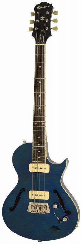 【在庫処分特価】Epiphone Blueshawk Deluxe Midnight Sapphire(MS)エピフォン エレキギター【店頭受取対応商品】