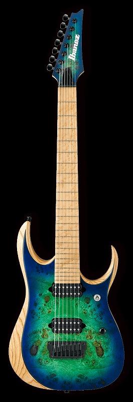 Ibanez IRON LABEL RGDIX7MPB Surreal Blue Burst(BKF)<アイバニーズ エレキギター>【商品番号 10011659 】【店頭受取対応商品】