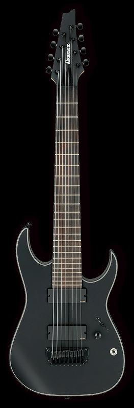 Ibanez IRON LABEL RGIR38BFE Black flat(BKF)<アイバニーズ エレキギター>【商品番号 10012042 】【店頭受取対応商品】