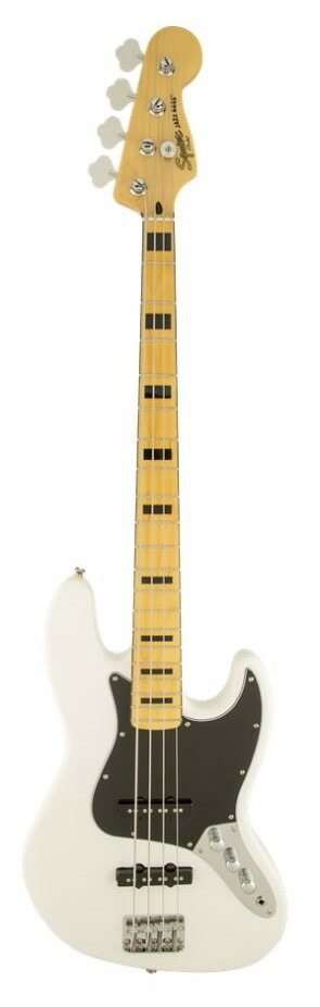 Squier Vintage Modified Jazz Bass® '70sOlympic Whiteスクワイヤ ジャズベース【店頭受取対応商品】