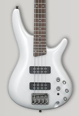 Ibanez SR300E Pearl White(PW) <アイバニーズ エレキベース>【商品番号 10009958 】【店頭受取対応商品】